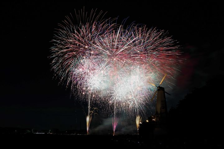 Saitama Fireworks Festival Owada Park