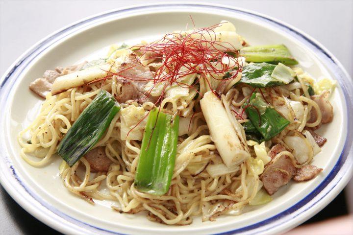 Iwatsuki-Negi Leek Salted Fried Noodle