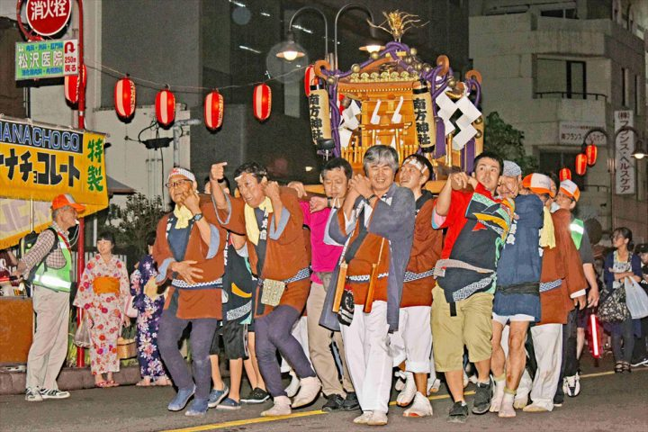 Omiya Summer Festival Nakasendo Miyahara Festival