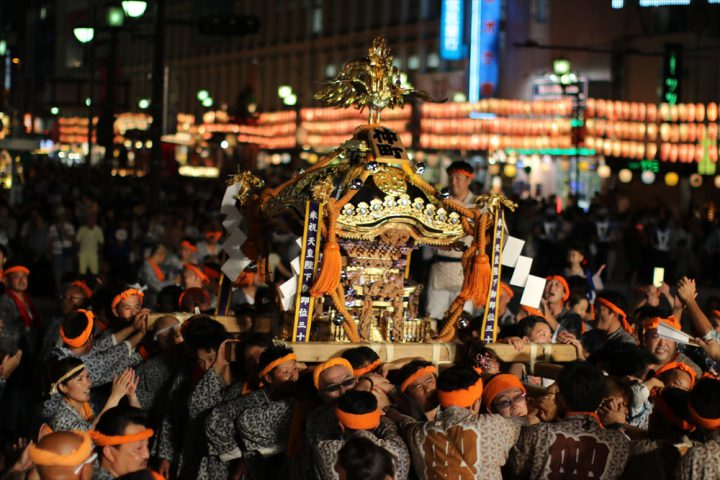 Omiya Summer Festival Nakasendo Festival