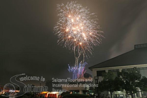 さいたま市花火大会 岩槻文化公園会場