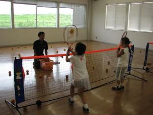 キッズテニス写真
