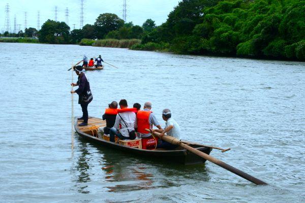 歴史漂う水辺の風景を和船に乗って楽しもう。「元荒川和船まつり」が8/17(土)、18(日)に開催されます!