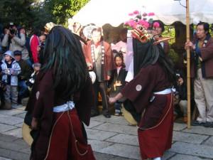 田島の獅子舞2