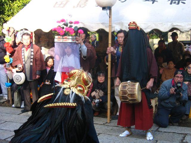 田島の春祭り『田島の獅子舞』