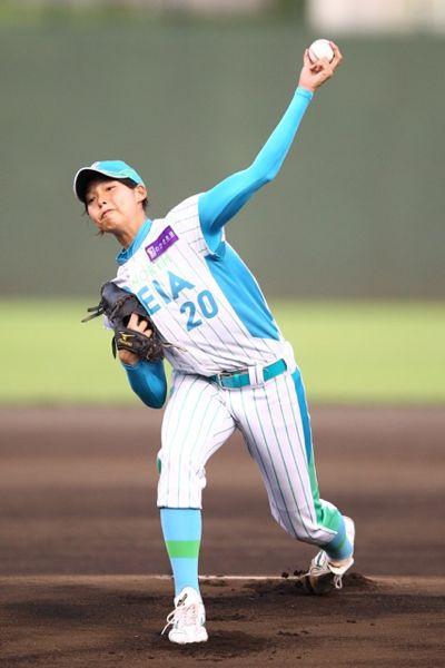 19日のピックアップ選手であるレイアの泉投手の写真