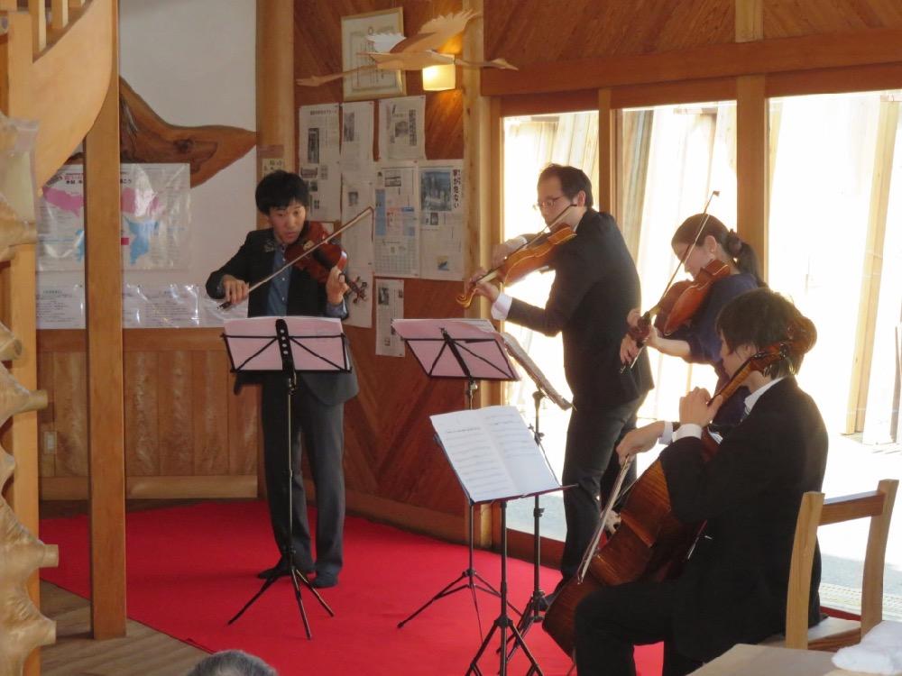 """開館12周年の""""木力館""""で毎年恒例の演奏会が開催されます。"""