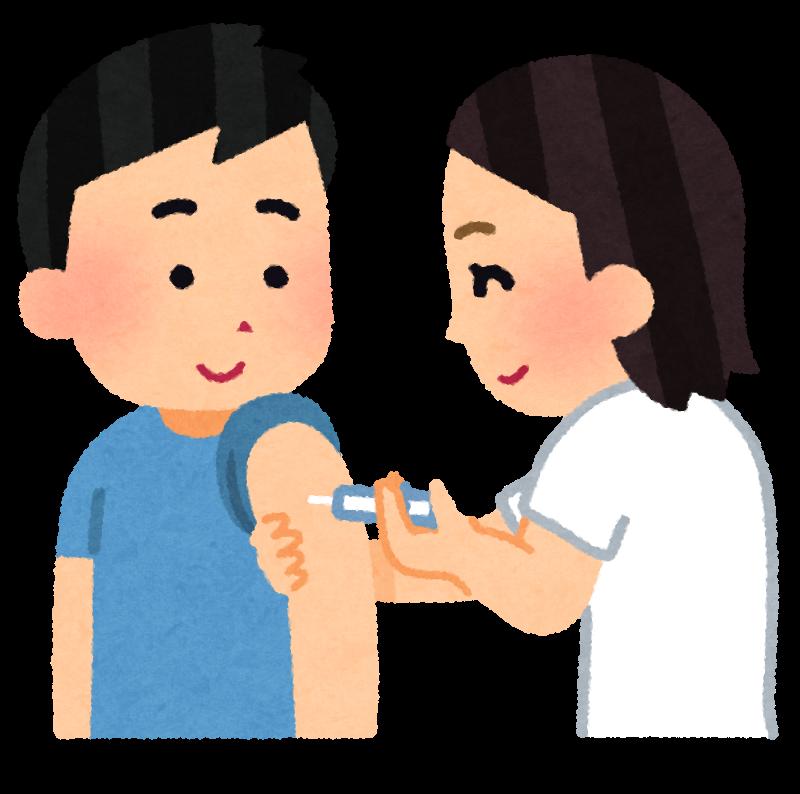 さいたま市の背中(124)『風疹の予防接種を受けてきました(さいたま市で)』